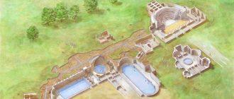 Abano excavations