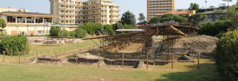 Abano excavations1