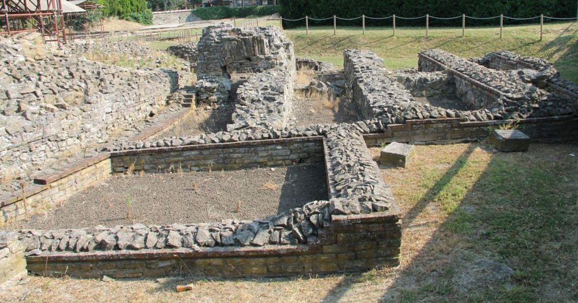 Abano excavations2